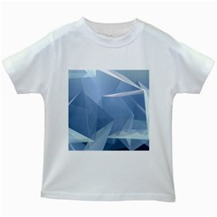 Wallpaper Abstraction Kids White T Shirts