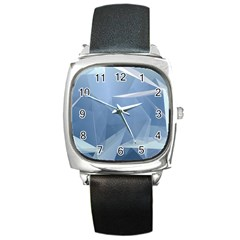 Wallpaper Abstraction Square Metal Watch