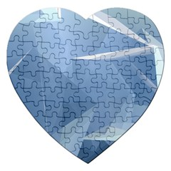 Wallpaper Abstraction Jigsaw Puzzle (heart)