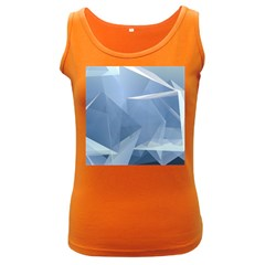 Wallpaper Abstraction Women s Dark Tank Top