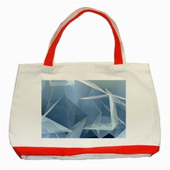 Wallpaper Abstraction Classic Tote Bag (red)