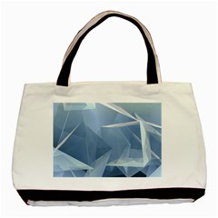 Wallpaper Abstraction Basic Tote Bag (two Sides)
