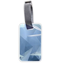 Wallpaper Abstraction Luggage Tags (one Side)