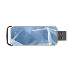 Wallpaper Abstraction Portable Usb Flash (one Side)