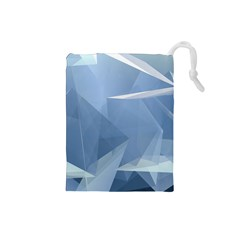 Wallpaper Abstraction Drawstring Pouch (small)