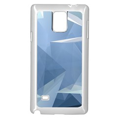 Wallpaper Abstraction Samsung Galaxy Note 4 Case (white)