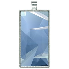 Wallpaper Abstraction Rectangle Necklace