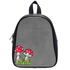 Mushroom Season School Bag (small) by WensdaiAddamns