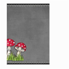 Mushroom Season Large Garden Flag (two Sides) by WensdaiAddamns