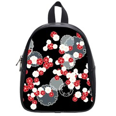Plumflower School Bag (small) by WensdaiAddamns