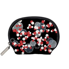Plumflower Accessory Pouch (small)