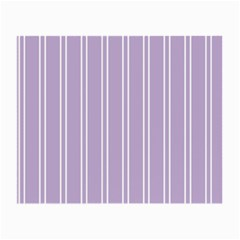 Nice Stripes In Crocus Petal  Small Glasses Cloth (2 Side)
