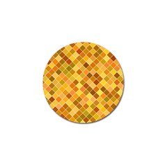 Square Pattern Diagonal Golf Ball Marker (10 Pack) by Mariart