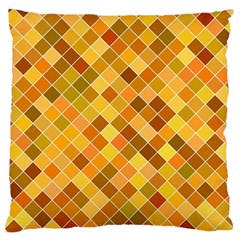 Square Pattern Diagonal Large Flano Cushion Case (one Side) by Mariart