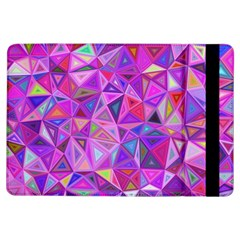 Pink Triangle Background Abstract Ipad Air Flip