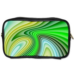 Wave Lines Pattern Abstract Toiletries Bag (one Side)