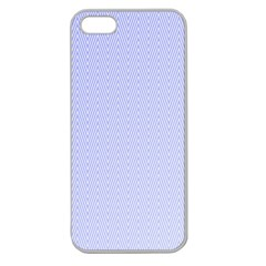 Zigzag Chevron Thin Apple Seamless Iphone 5 Case (clear) by Jojostore