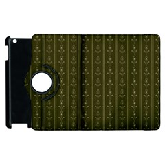 Vintage Wallpaper Apple Ipad 2 Flip 360 Case by Jojostore