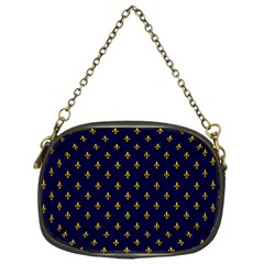 Texture Pattern Chain Purse (one Side)