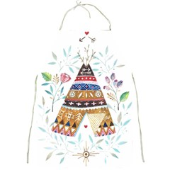 Triangle Tent Full Print Aprons