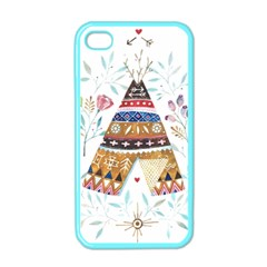 Triangle Tent Apple Iphone 4 Case (color)