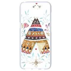 Triangle Tent Samsung Galaxy S8 White Seamless Case