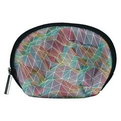 Triangle Mesh Render Background Accessory Pouch (medium)