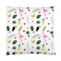 Tropical Vector Elements Peacock Standard Cushion Case (one Side)