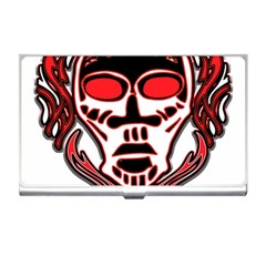 Visual Arts Skull Business Card Holder