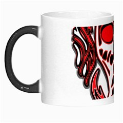 Visual Arts Skull Morph Mugs