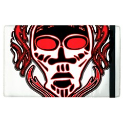 Visual Arts Skull Apple Ipad 2 Flip Case by Alisyart