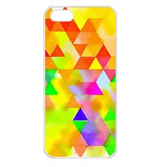Watercolor Paint Blend Apple Iphone 5 Seamless Case (white)