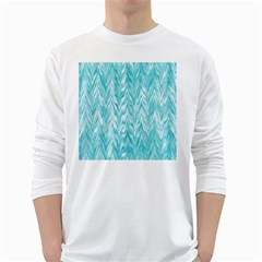 Zigzag Backdrop Pattern Long Sleeve T Shirt