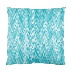 Zigzag Backdrop Pattern Standard Cushion Case (two Sides)