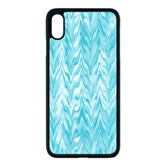 Zigzag Backdrop Pattern Apple Iphone Xs Max Seamless Case (black) by Alisyart