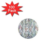 Zigzag Backdrop Pattern Grey 1  Mini Magnets (100 Pack)