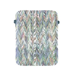 Zigzag Backdrop Pattern Grey Apple Ipad 2/3/4 Protective Soft Cases