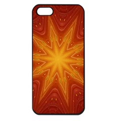 Fractal Wallpaper Colorful Abstract Apple Iphone 5 Seamless Case (black)
