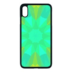 Kaleidoscope Background Apple Iphone Xs Max Seamless Case (black)