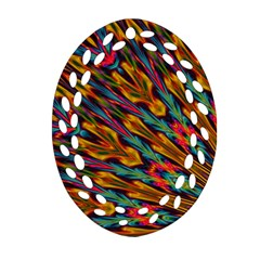 Background Abstract Texture Ornament (oval Filigree)