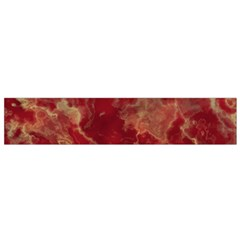 Marble Red Yellow Background Small Flano Scarf by Jojostore