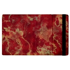 Marble Red Yellow Background Ipad Mini 4