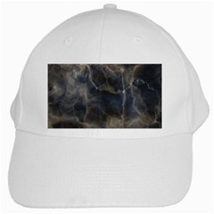 Marble Surface Texture Stone White Cap by Jojostore