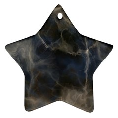 Marble Surface Texture Stone Ornament (star)