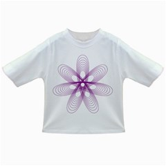 Spirograph Purple Circle Geometric Infant/toddler T Shirts