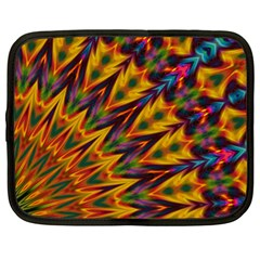 Background Abstract Texture Chevron Netbook Case (xl) by Mariart