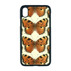 Butterflies Insects Apple Iphone Xr Seamless Case (black) by Mariart