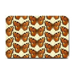 Butterflies Insects Small Doormat  by Mariart