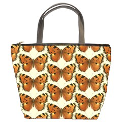 Butterflies Insects Bucket Bag by Mariart
