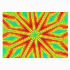 Kaleidoscope Background Star Large Glasses Cloth (2 Side) by Mariart